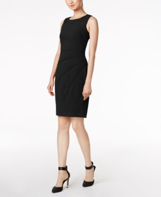 Calvin Klein Sunburst Sheath Dress & Reviews - Dresses - Women .