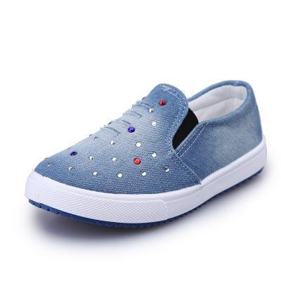 Kids Shoes for Boys Denim Sneakers Baby Canvas Flat Shoes Girls .