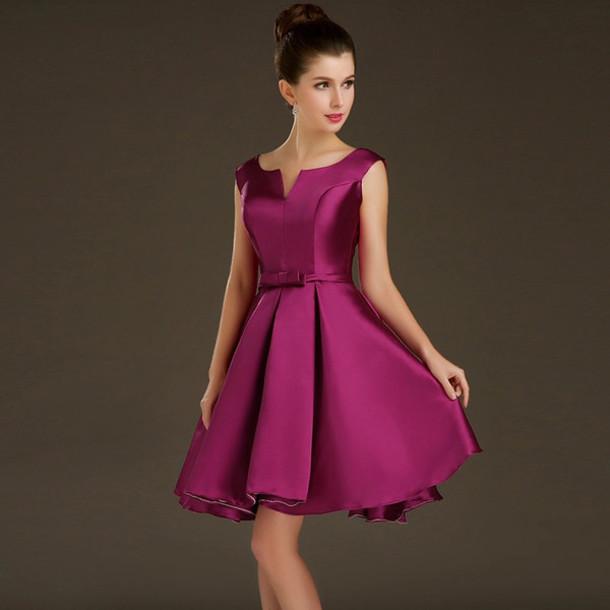 Robes formelles courtes pour femmes - Robe de mode