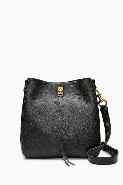 Black Darren Shoulder Bag | Rebecca Minko