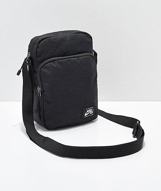 Nike SB Heritage Black & White Shoulder Bag | Zumi