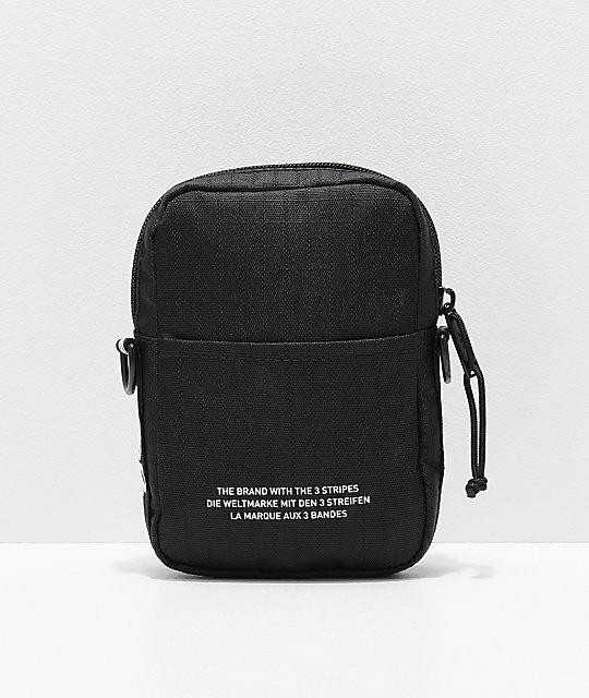 adidas Originals Black Shoulder Bag | Zumi