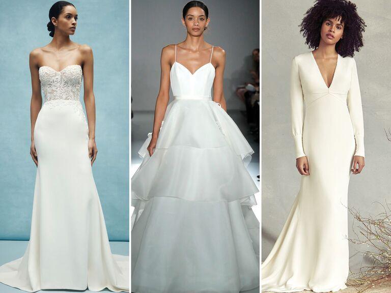 28 Simple Wedding Dresses Perfect for Minimalis