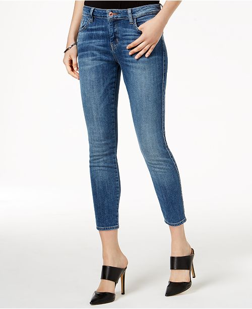 GUESS Cropped Skinny Jeans & Reviews - Jeans - Women - Macy
