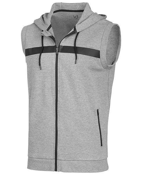Ideology Men's Sleeveless Zip Hoodie, Created for Macy's .