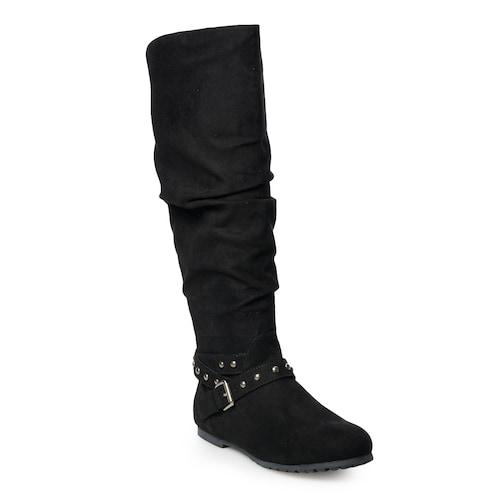 SO® Rebecca Women's Knee High Slouch Boo
