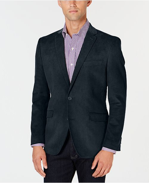 Unlisted Kenneth Cole Men's Slim-Fit Corduroy Sport Coat, On-Line .