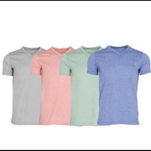Vertical Sport Shirts | Vneck Mens Tshirt See Descriptio | Poshma