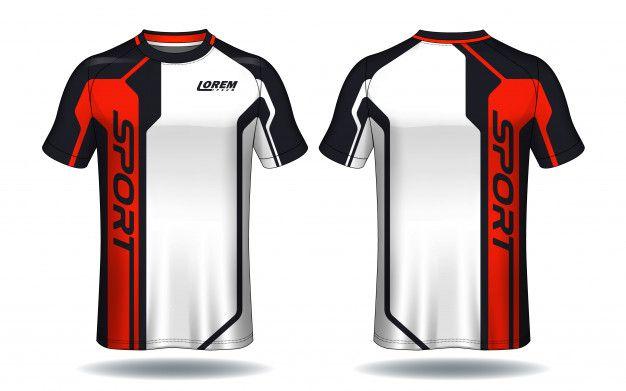 Soccer Jersey Template.sport T-shirt Design. | Sport shirt design .