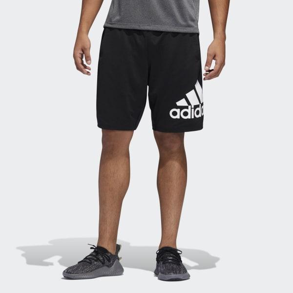 adidas 4KRFT Sport Badge of Sport Shorts - Black   adidas