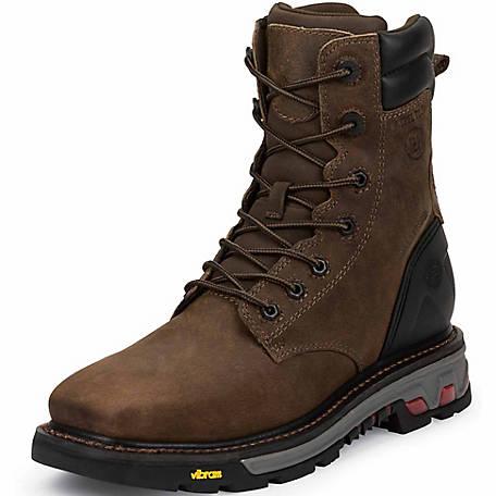 Justin Original Work Boots Men's Tobacco Commander-X5 .