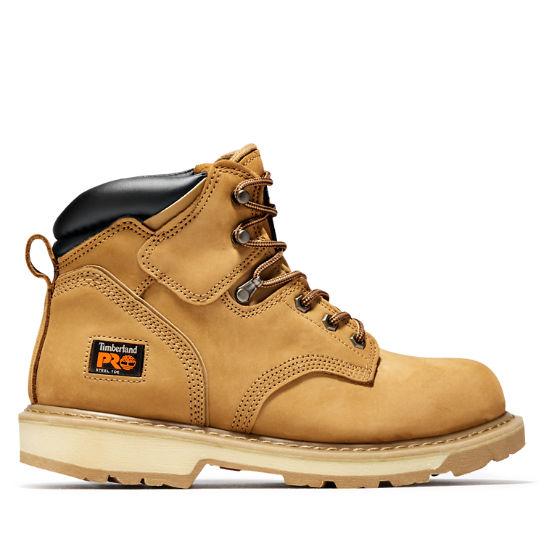 "Men's Timberland PRO® Pit Boss 6"" Steel Toe Work Boots ."