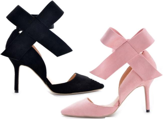 MUST-HAVE: Bowknot stilettos sho