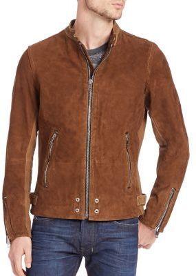 Diesel Edgeamer Suede Jacket, $798   Saks Fifth Avenue   Lookastic.c