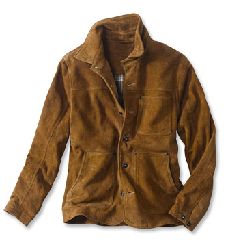 Rough Out Suede Jacket - Orv