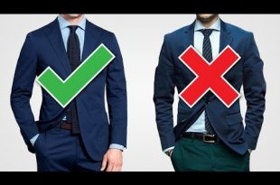 Suit Up! The 10 GOLDEN Rules To Buying A Suit (With Style) - YouTu