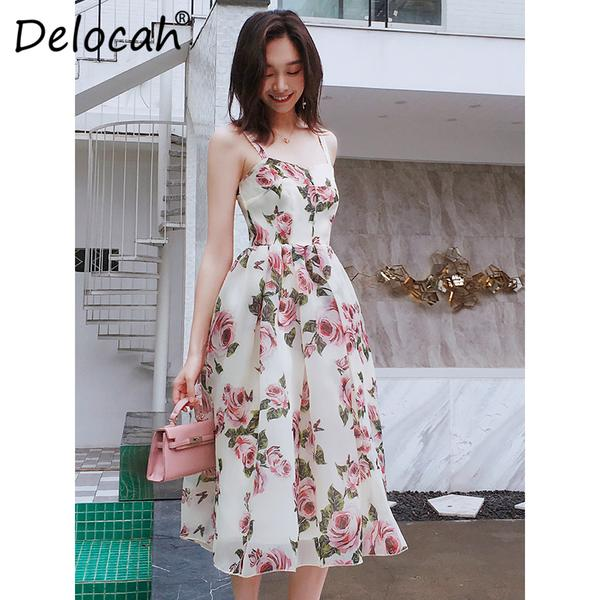 summer dresses casual for women fashion designer printed – Fashion .