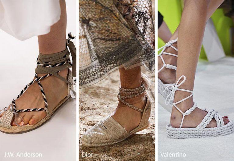 Spring/ Summer 2020 Shoe Trends | Summer shoes, Knit shoes, Kitten .
