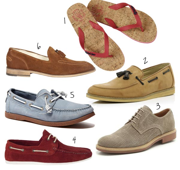 Slip-ons And Flip Flops: Two Of The Most Common Mens Summer Shoes .
