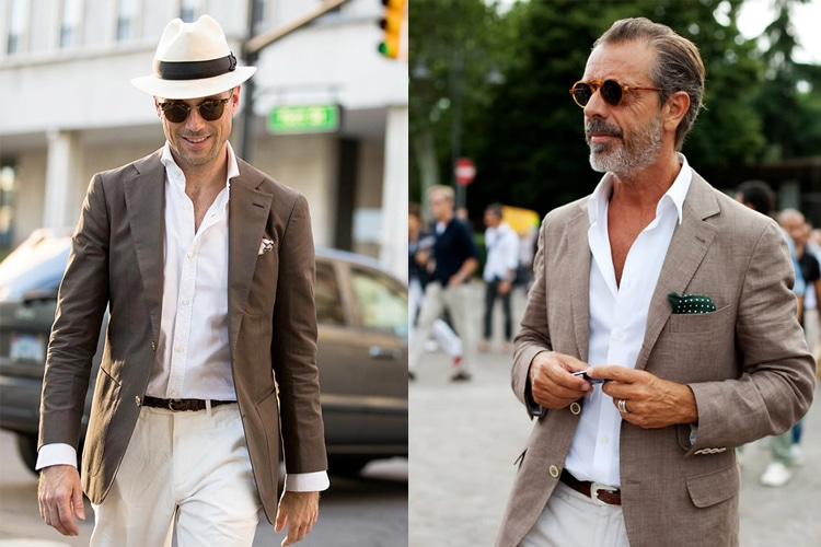 How to Wear a Men's Suit in Summer   Man of Ma