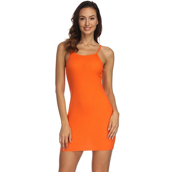 Women Sleeveless Summer Bodycon Dress Off Shoulder Sexy Slim Dress .