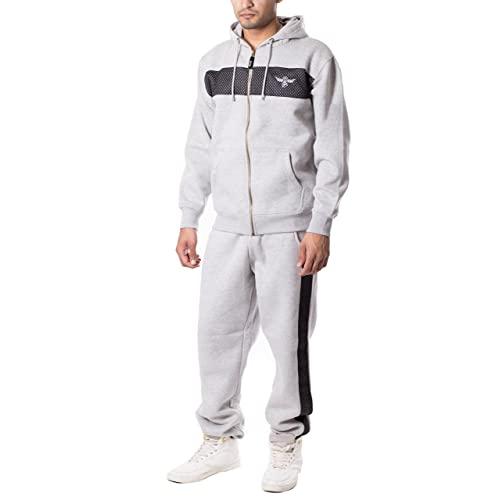 Men's Fleece Sweat Suits: Amazon.c