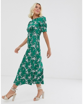 New Sales are Here. 20% Off ASOS DESIGN midi tea dress in floral .