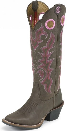Tony Lama RR2008L Ladies 3R Collection Buckaroo Boot with .