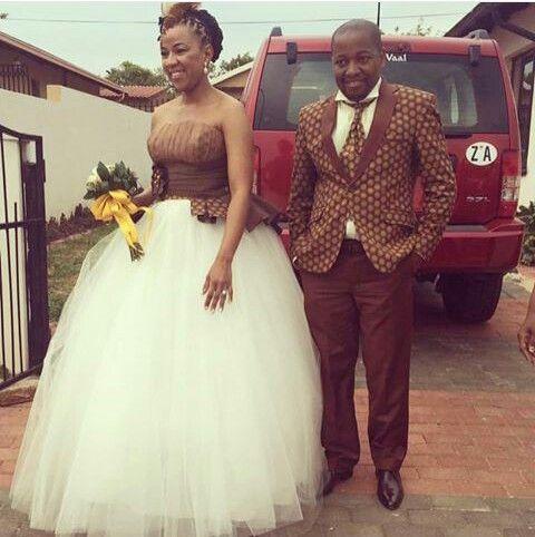 traditional attire | African wedding dress, African wedding atti