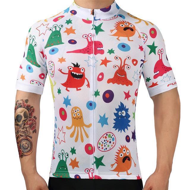 Men's Short Sleeve Cycling Jersey - ANIME - Trendy Cycli