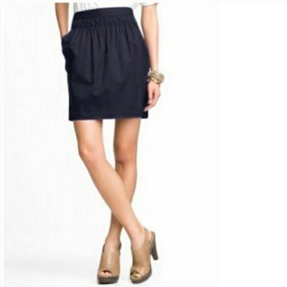 Banana Republic Skirts | Black Tulip Skirt Sz 6 | Poshma