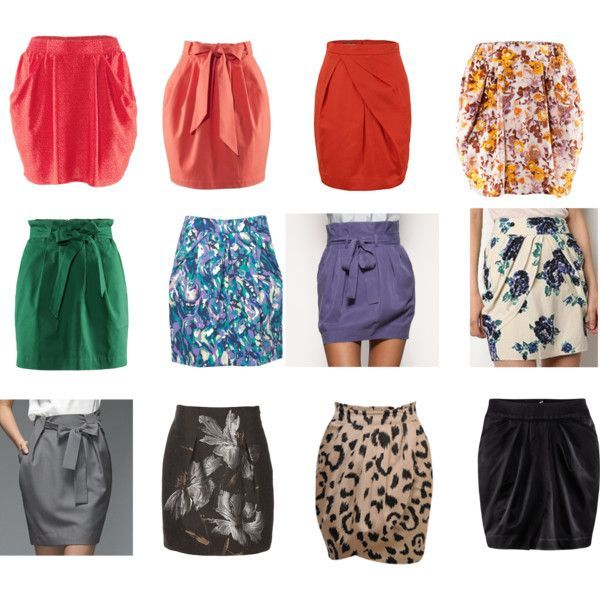 """Tulip Shaped Skirts"""" by courtneycjo on Polyvore TR Skirts should ."""