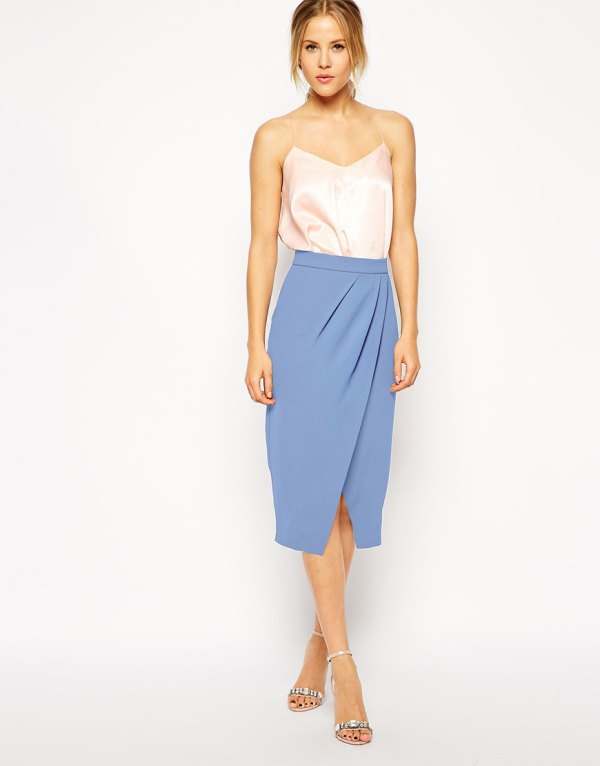 How to Wear Tulip Skirt: 15 Super Chic Outfit Ideas for Women .