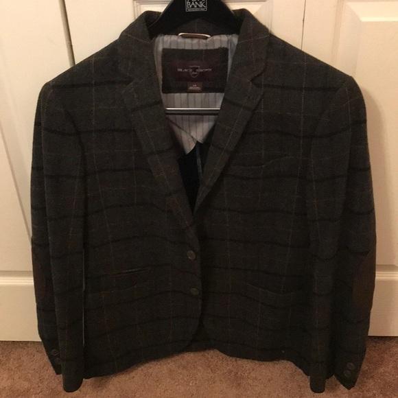 Black Brown 1826 Suits & Blazers | Black Brown Mens Tweed Jacket .