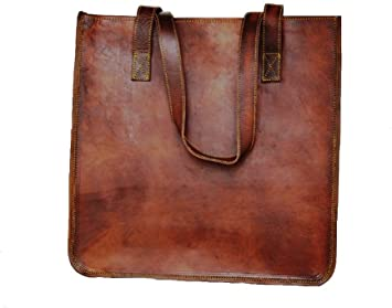 Amazon.com: Leather Vintage Gypsy bag Vintage tote bag shoulder .