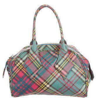 Vivienne Westwood Plaid Derby Bag | Vivienne westwood bags, Green .