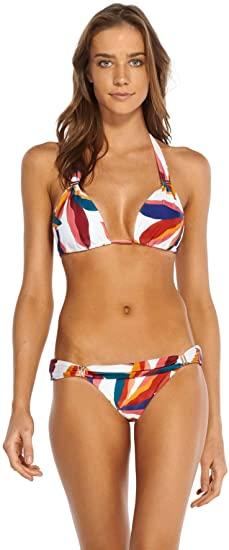 Amazon.com: ViX Swimwear Women's Guana Sliding Halter Bikini Top .