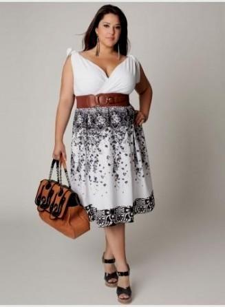 plus size western dresses looks | B2B Fashi