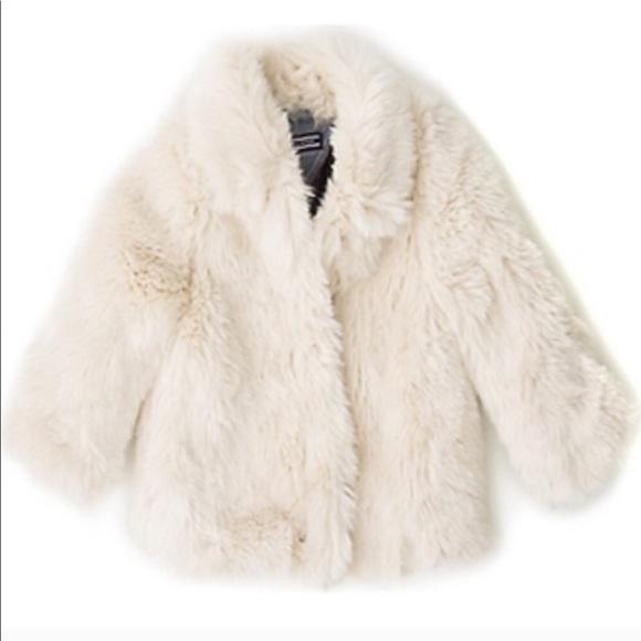 Tommy Hilfiger Jackets & Coats | Snow White Kids Faux Fur Coat .