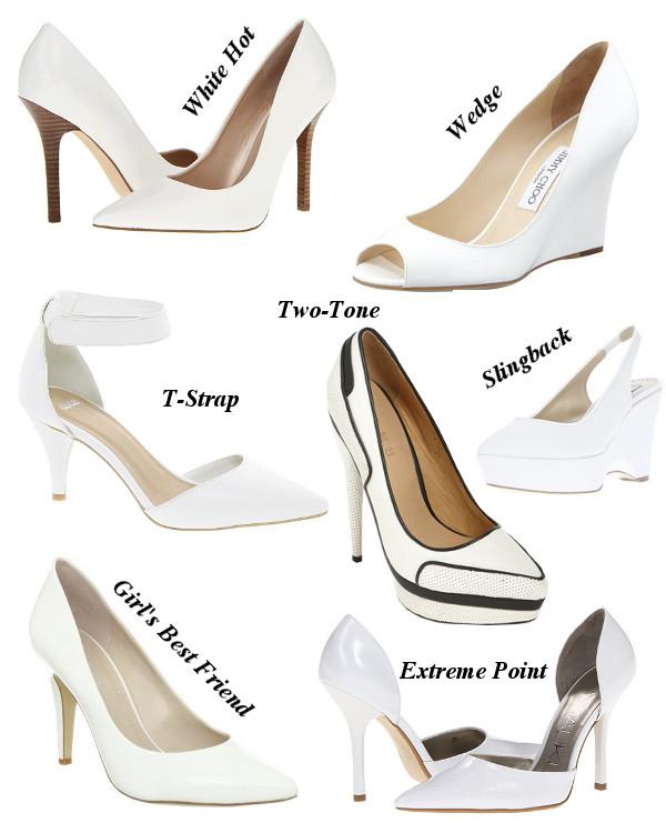 White Pumps – Fashion dress