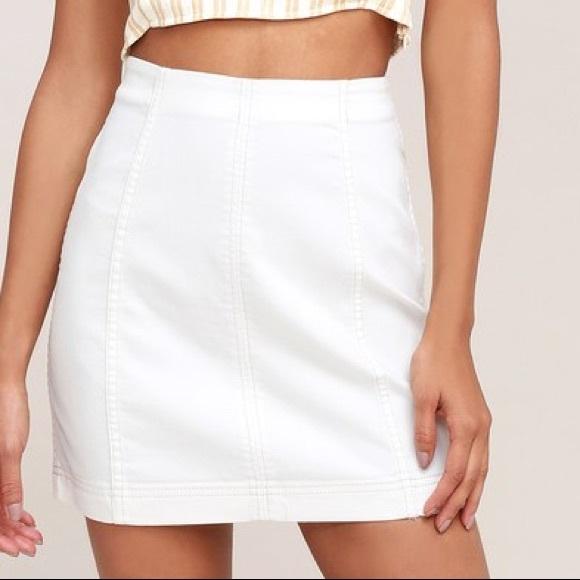 Free People Skirts | White Skirt | Poshma