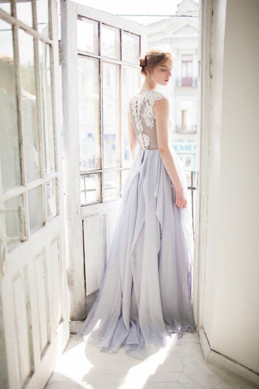 7 Non White Wedding Dresses You Will Love to Rock Down the Aisle .
