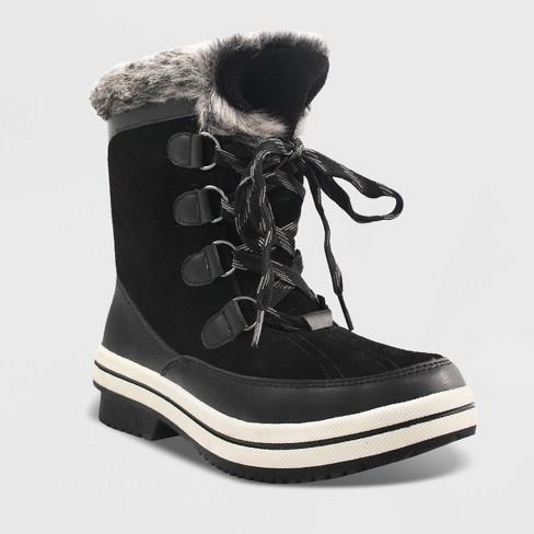 Women's Ellysia Microsuede Short Functional Winter Boots .