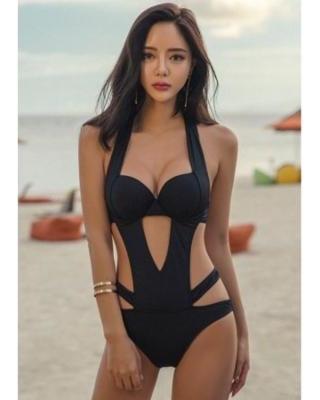 Savings on One Piece Bikini, Coxeer Women's Bathing Suit Sexy Slim .