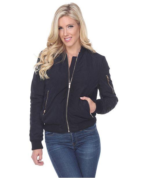 White Mark Plus Size Bomber Jacket & Reviews - Jackets & Blazers .