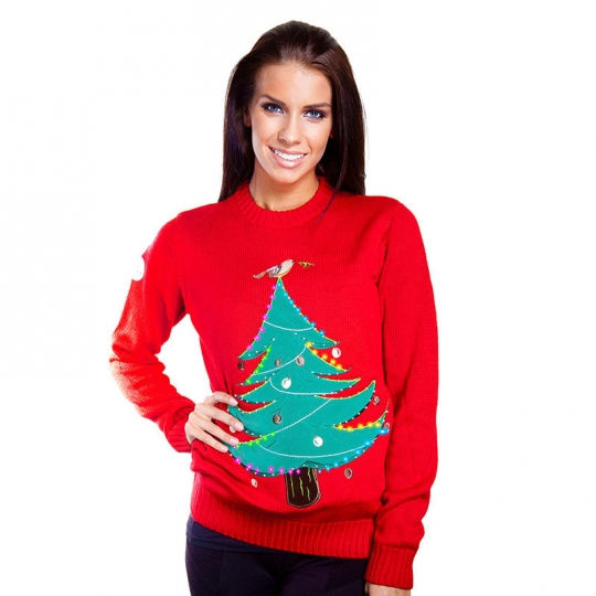 Light Up Christmas Tree | Christmas Jumper with Lights | Buy Onli