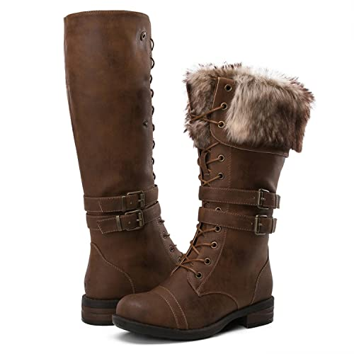 Brown Winter Boots: Amazon.c