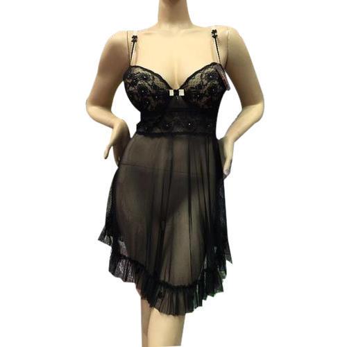 Vêtements de nuit noirs en coton pour femmes, Rs 540 / pièce, Anurish Exim.