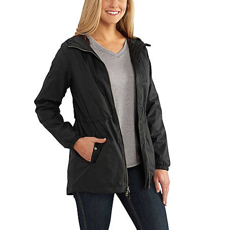Carhartt Women's Long Sleeve Hooded Rain Jacket at Tractor .