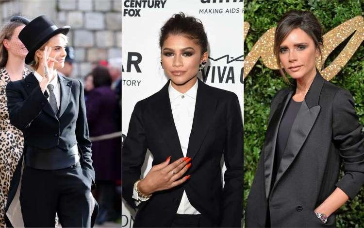 Women in suits: which celeb rocked it bes